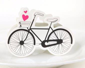 50pcs,Bicycle Wedding Boxes//Wedding Favor//Wedding favor Boxes//Wedding Candy Paper Box//Gift Box// Wedding Gift//Treat Box,baby Shower