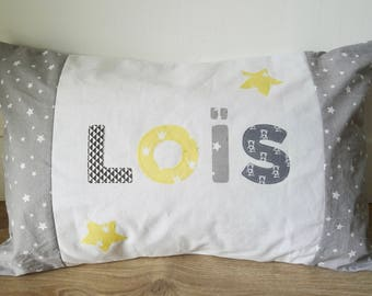 "Personalized pillow ""Lois"""