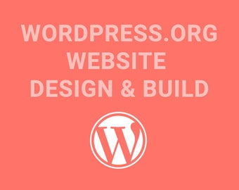 Wordpress website Design & Build
