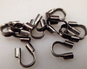 lot ~ 70 pc protects 4mm black 2 g brass wire