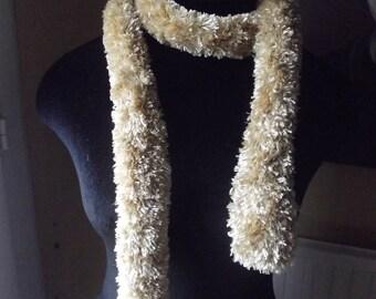 faux fur boa scarf