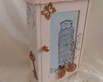 "Box keys ""Tower of Pisa"""