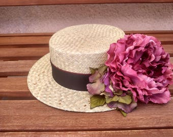 Boater maxi flower