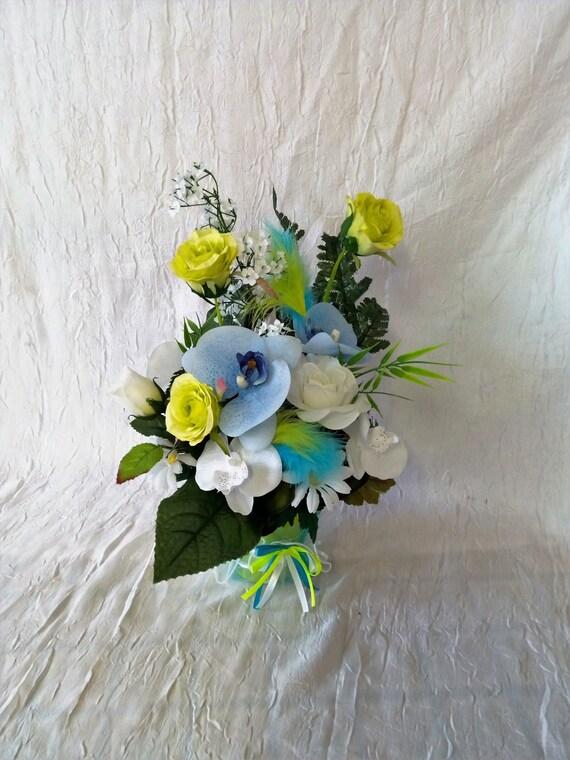 centre de table ou pour vos buffet composition florale pour