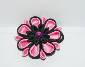 kanzashi - elastic / tie + gift box