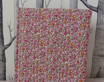 Pink flower liberty photo album