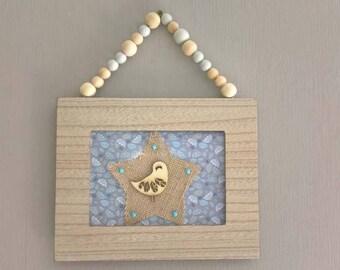 child's room decor frame