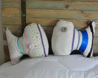 fish shaped pillow well-rounded