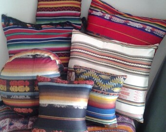 BEAUTIFUL CUSHION COVERS IN COTTON LARGE CHOICE OF COLORS