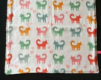 Napkin / taste for kindergarten - cats