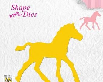 Nellie Snellen Shape Die horse new die