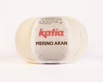 MERINO ARAN Katia - 3 colors