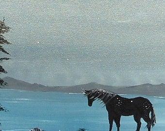 Original Acrylic on Gallery Canvas - Native Art