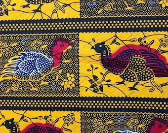 Hens African Wax fabric