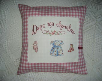 Decorative girl Cushion cover