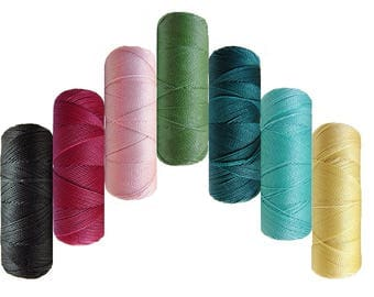Macramé poissé thread - Linhasita - Lot Soft