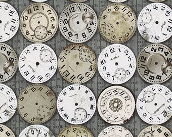 Eclectic Elements - Tim Holtz - Timepieces - PWTH003