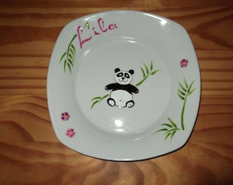 "custom plate ""little bear of China"""