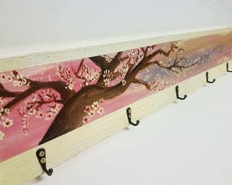 Wall clothes hanger coathanger handmade coat hanger