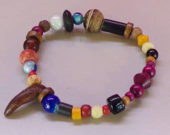 Elastic bracelet mix natural pearls