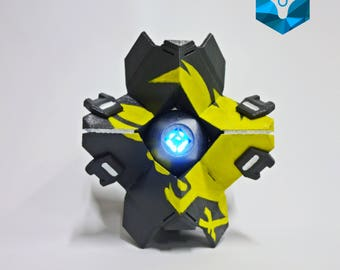 Full scaled LED Ghost Warlock shell