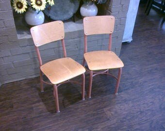 Vintage Chid's Desk Chairs