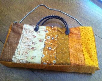 Hand or shoulder patchwork bag
