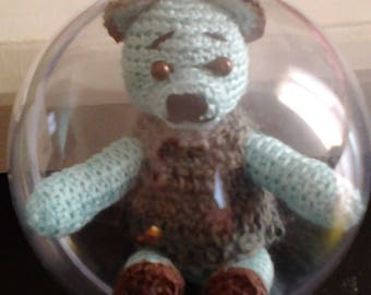 Christmas amigurumi bear