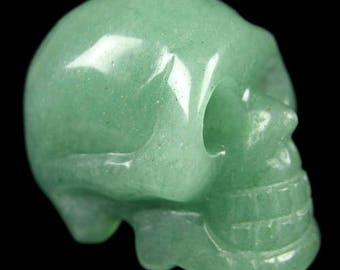 40mm Crystal Skull - aventurine