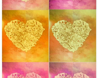 I Heart Hand Prints