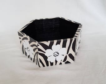 "Empty Pocket ""Zebra"" wood"