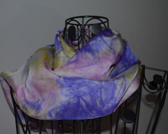 9 - roulote hand ponge silk scarf