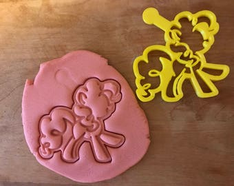 My Little Pony Cookie Cutter Clay Stamp Fondant 3d Printed Baking