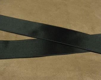 2.5 cm - black SATIN Ribbon