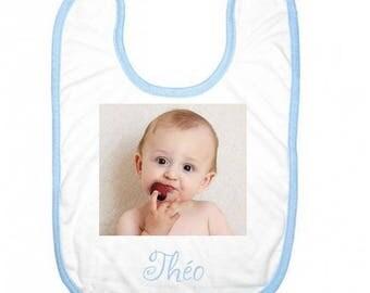 Personalized baby bib