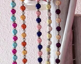 Bracelet beads magic yellow Orange