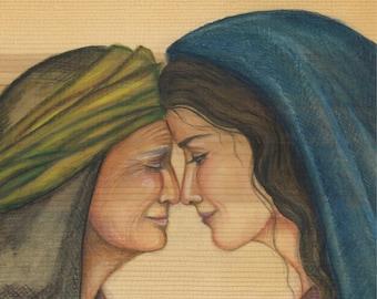 Mary and Elizabeth, The Visitation