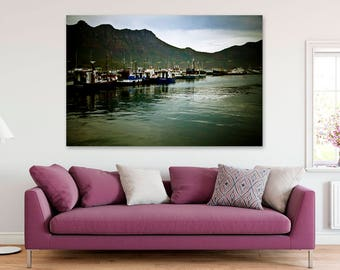 Canvas Print | Memories of Hout Bay, Cape Town, South Africa | Printable Wall Art | Canvas Wall Art | Canvas Wall Hanging