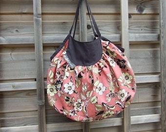 Fabric pattern provence bag