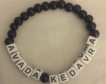Handmade Avada Kedavra Bracelet