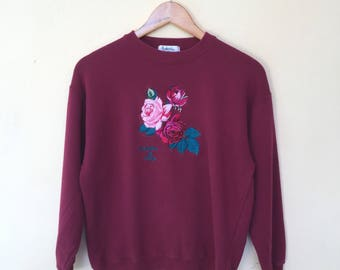 Composition by Kenzo Crewneck Sweatshirts Jumper Pullove Size S Vintage 90s