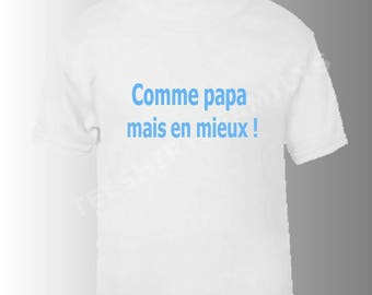 text dad t-shirt