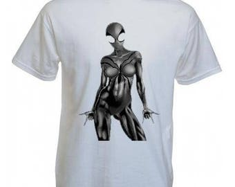 T-shirt man personalized ALIEN