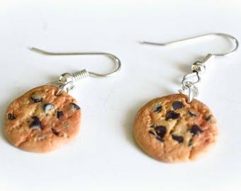 Boucles d'oreilles Fantaisies - Gâteau - Cookies - Pâte polymère