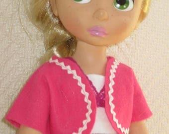 Disney animator doll vest - pink