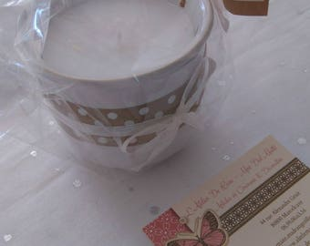 """Handmade scented candle - fragrance """"J'Adore Dior gold"""""""