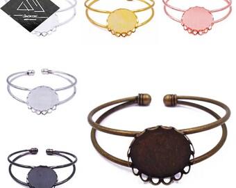 Bracelet aluminium 20 mm