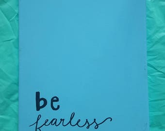 Fearless Canvas