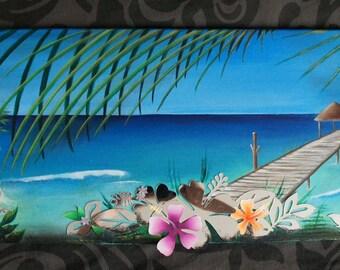 Seychelles Paradise painting