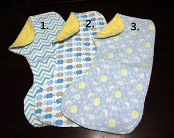 Baby Boy Burp Cloths